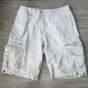 🔴Lee Dungarees khaki/beige cargo pants. Size 30.